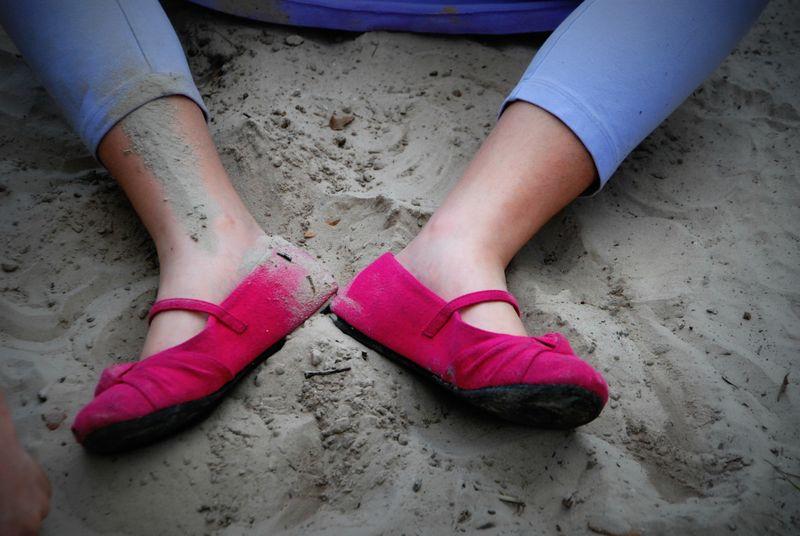Sandy feet 021